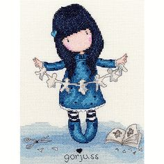 Bothy Threads Gorjuss Cross Stitch Kits Various Designs - all new kits - 2015