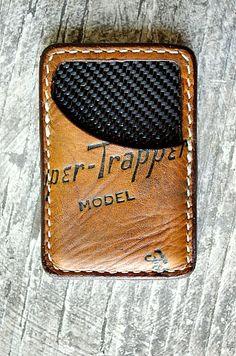 Limited Edition Vvault Front Pocket Wallet...Built From Vintage Baseball Gloves-SR