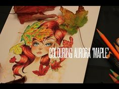 TheEastWind Challenge Blog: Show Room : Colouring Aurora 'Maple'