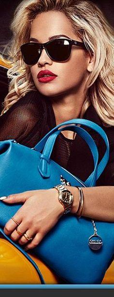 British singer Rita Ora for DKNY resort 2014 LBV ♥✤ | KeepSmiling | BeStayElegant