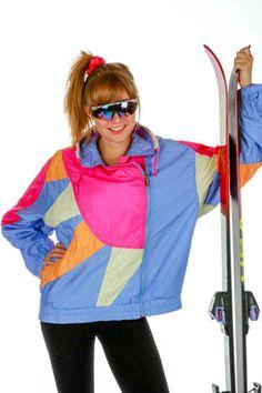 Outrageous Retro & Vintage Ski Suits & Apparel by Shinesty - Apres ski party outfit - 90s Retro Clothing, Vintage Ski Jacket, Apres Ski, Ski Fashion, Themed Outfits, Retro Outfits, Cable Knit Sweaters, Ski Gear, Skiing