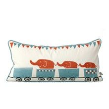 Tiny train cushion