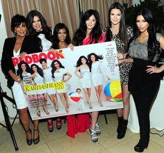 Kardashians celebrate Redbook cover