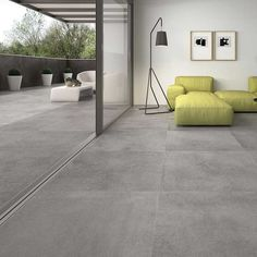 grey flooring Nevis Grey Inside-Outside - flooring Outside Tiles, Outside Flooring, Outdoor Flooring, Stone Tile Flooring, Natural Stone Flooring, Grey Flooring, Modern Flooring, Stone Tiles, Patio Tiles