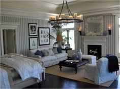 scot meacham rooms | Scot Meacham Wood's design for an East Hampton bedroom is perfectly ...
