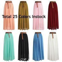 11$ maxi skirt