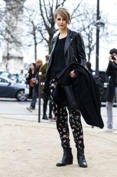 Paris Fashion Week Fall 2015: Models Off Duty