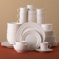 Gibson Home Heritage Place 48-Piece Dinnerware Set & Free 2-day shipping. Buy Gibson Home Regalia 46-Piece Dinnerware and ...