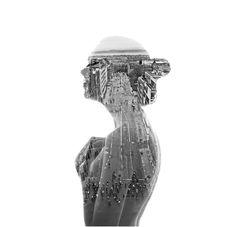 ---- New in the Shop: Aneta Ivanova's Beautiful Double Exposure Portraits - My Modern Metropolis Double Exposure Photography, White Photography, Minimalist Photography, Photography Camera, Urban Photography, Color Photography, Portrait Photography, Photographie Street Art, Atelier Photo