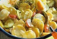 lehký salát večeře | Mimibazar.cz Fruit Salad, Potato Salad, Potatoes, Ethnic Recipes, Food, Fruit Salads, Potato, Essen, Meals