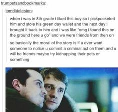This post was funny, then cute, then made better by Sherlock. Sherlock Fandom, Funny Sherlock, Sherlock Tumblr, Sherlock Moriarty, Sherlock Poster, Sherlock Season, Sherlock Quotes, Sherlock John, Tumblr Funny