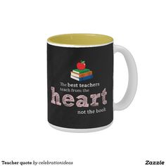 Sold. #Teacher #quote #mug #giftideas #school available in different products. Check more at www.zazzle.com/celebrationideas