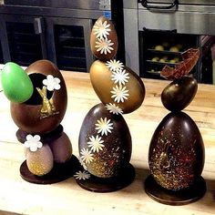 Easter Eggs!! by Pastry Chef Antonio Bachour, via Flickr