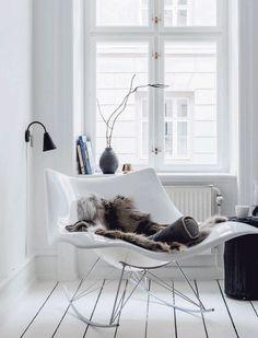 Fredericia — Stingray rocking chair by Thomas Pedersen