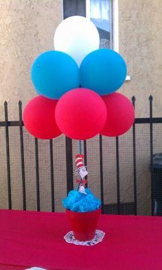 Dr Seuss Baby Shower Ideas For Boys Center Pieces 29 Ideas For 2019 Dr Seuss Party Ideas, Dr Seuss Birthday Party, Twin Birthday Parties, Baby Boy Birthday, Birthday Ideas, 2nd Birthday, Dr Suess Baby, Dr Seuss Baby Shower, Baby Boy Shower
