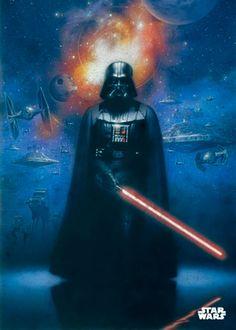 Poster metálico Darth Vader, 45 x 32 cm. Star Wars Episodio IV  Un poster metálico con la imagen del imponente Señor del lado oscuro Darth Vader y a su espalda las distintas naves y vehículos usadas por las tropas del Imperio galáctico. Este poster proporciona una larga duración al ser fabricado en metal y de fácil montaje.