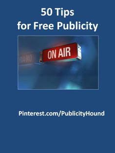 Free publicity ideas and examples are all over this board. You'll find publicity examples for newspapers, magazines, TV and radio as well as ideas on how to get known on social media sites or online news sites. Each pin leads back to The Publicity Hound's blog where you can read more about that idea. Have fun with free publicity. Come back here and share the coverage you've received. #freepublicity #publicitytips #publicityexamples #pr