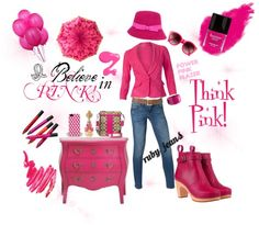"""""""I Believe in Pink! - CAbi Spring 2013"""" by fashionistaerica on Polyvore"""