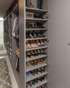 53 Elegant Closet Design Ideas For Your Home. Unique closet design ideas will definitely help you utilize your closet space appropriately. An ideal closet design is probably the only avenue towards go. Bedroom Closet Doors, Bedroom Closet Storage, Dressing Room Closet, Bedroom Closet Design, Wardrobe Storage, Bathroom Closet, Closet Designs, Shoe Storage, Diy Bedroom