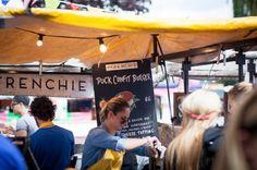 Duck Confit Burger, Londres, Royaume-Uni, août 2014