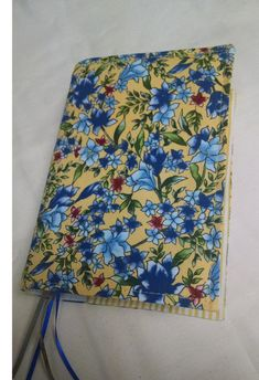 Ready to Ship  Blue Bell  Fabric NWT Bible Cover by KingdomCovers
