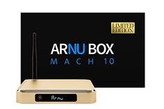 ARNU Box Mach 10 Pure Linux Gold Limited Edition