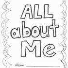 Free All About Me Book from RockabyeButterfly.com  Children love filling out their favorites and describing themselves, there's even a page to draw...