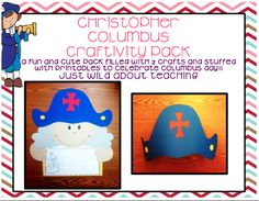 Just Wild About Teaching: Oldie but Goodie Replaced!! Christopher Columbus Craft Pack!!