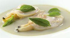 Royal de jugo de mariscos #receta Andoni Aduirz