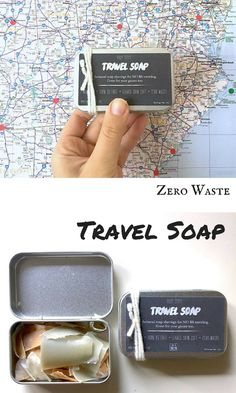 Perfect for eco friendly travels! No more dripping soap bars you don't know where to store. Use one at a time, and repeat.
