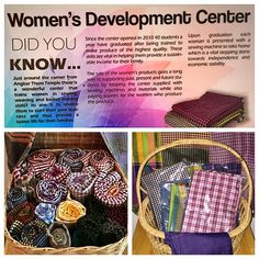 This picture shows some of the beautiful handmade scarves made by the #WomansDevelopmenCenter. Trailblazer has committed to donate 20 sewing machines to the Center.  Visit www.thetrailblazerfoundation.org to learn more...