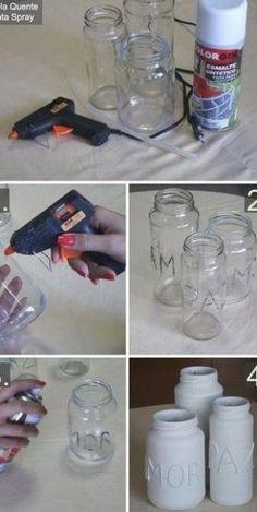 Diy Candles Wick With Yarn Mason Jars 35 Ideas Wine Bottle Crafts, Mason Jar Crafts, Mason Jar Diy, Bottle Art, Diy Candle Wick, Diy Candles, Candle Wax, Diy Hacks, Wedding Centerpieces Mason Jars