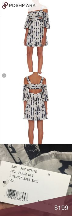 Alexis exclusive for intermix dress Off shoulder cut out flared sleeve Alexis dress size M Alexis  Dresses Mini