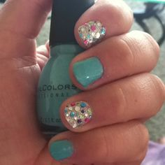Colorful nails :)