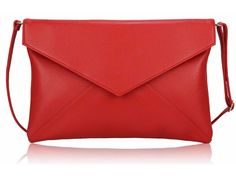 Our Red Envelope Style Fashion Clutch Bag is simply chic.This stunning clutch is the perfect accessory for nights out, special occasions and even make. Prom Clutch Bags, Red Envelope, Evening Bags, Purses And Bags, Fancy, Handbags, Wallet, Gifts, Accessories