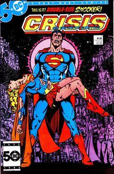 John Byrne Large Comic Book Hard Box Chest MDF Superman