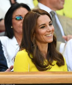 Today the Duchess opened up about playing tennis against Prince William, admitting that it...