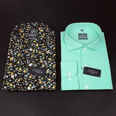 Another sneak peek at two 40sx40s poplin shirts from the Fall 15 news, launching in Sep. Get ready Gents!  www.Grandfrank.com