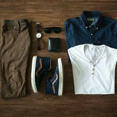 the latest trends in mens fashion and mens clothing styles Mode Outfits, Casual Outfits, Fashion Outfits, Fashion Shorts, Mode Cool, Traje Casual, Mode Costume, Casual Wear For Men, Outfit Grid
