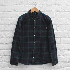 Carhartt WIP Bell Shirt - Black Bell Check