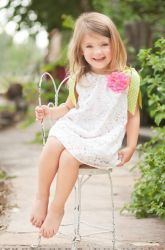 Chloe's Bouquet Dress-The Couture Baby