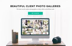 Client photo gallery designed for professional photographers to share, deliver, proof and sell online.