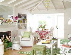 comfy cottage decor
