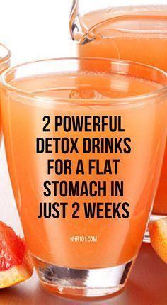 Natural Detox Drinks For A Flat Stomach In 2 Weeks - Diet & Weight Loss - Bebidas Detox, Diet Drinks, Healthy Drinks, Hard Drinks, Fruit Drinks, Fruit Smoothies, Beverages, Full Body Detox, Natural Detox Drinks