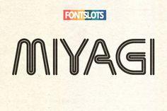 Miyagi Font Download