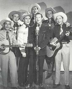 The Sons of the Pioneers with their good friend Rex Allen.
