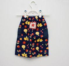 Vintage flowered baby pants by PotatoCakeVintage on Etsy