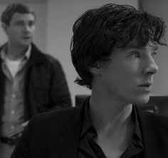 """""""I love this angle. Sherlock looks so young"""" yep you know what? that face, that would be an awesome Percy Jackson, am I right? oh that would be soooooo cool. <---- that would be cool, but Benedict is a bit too old, unfortunately :( Sherlock Bbc, Sherlock Holmes Benedict Cumberbatch, Benedict Cumberbatch Sherlock, Martin Freeman, Mrs Hudson, 221b Baker Street, John Watson, Pepper Potts, Johnlock"""