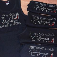 4 Birthday Diva Entourage tank top & ladies by BirthdaySquad Birthday Weekend, 40th Birthday Parties, Birthday Shirts, Birthday Celebration, Girls Weekend, Girls Night Out, 40th Bday Ideas, Birthday Ideas, 50 And Fabulous