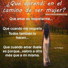 El valor de ser mujer !!!